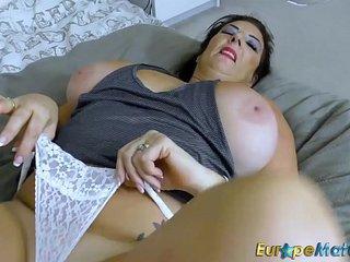 EuropeMaturE Butt-bangs Busty Chubby Lulu Lush Solo