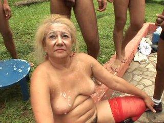 granny gangbang full flick