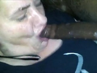 Granny from EpikGranny.com gives dirty blowjob