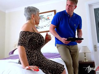 AgedLovE Mature Savana Nailed with Marc Kaye