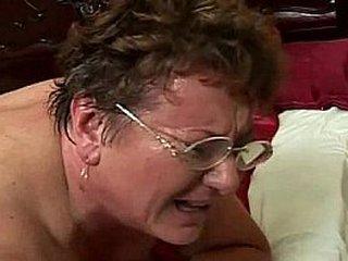 sweaty fat granny rear pussy screwed