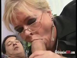 Lush German Granny Light-haired Enjoys To Ride Fat Rock hard Hard-on
