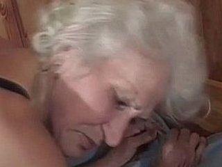 mature granny beaver poked