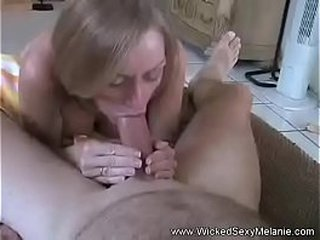 Unexperienced Granny Likes Her Son's Cock