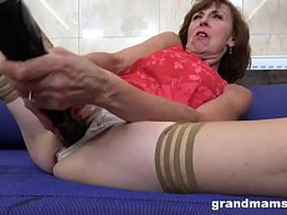 Big Toys for Horny Granny