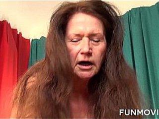 Nasty Redhead German Granny