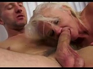 Granny Anal invasion Creampie