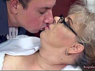 Granny Loves Huge Dick