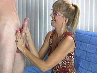 Granny Enjoys This Fat Cock