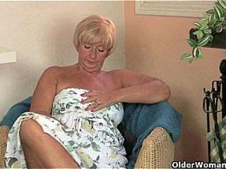British granny Samantha needs her daily climax
