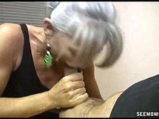Slutty Granny Butt cheeks