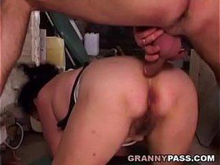 Underground Granny Ass fucking