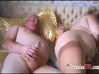Amateur Granny Ash-blonde And Her Spouse Make Enjoy