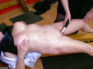 OldNanny Bondage & Discipline granny and mature
