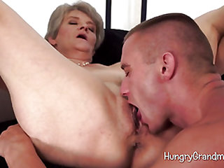 Granny Over 60 Sweetie Blowjob