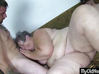 Big Dirty Granny Dildo Smallish Herself