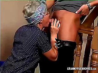 Granny Deep throats Off Fucktoy Gifted