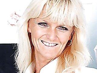 Mature Frantiska vagina wide open in nurse uniform at clinic