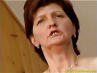 Oral pleasure of mature lady