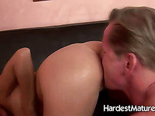 A couple giving each other oral enjoyments