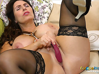 EuropeMaturE Solo Mature Lady and Her Desires