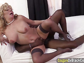 Karen Summer Interracial hookup whit a big shaft