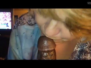 Interracial granny adores big black cock