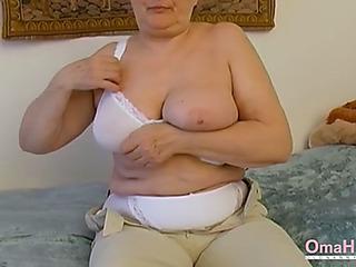 Omahotel additional dread granny seductive striptease