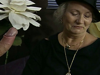 german mature granny widow screwed hard