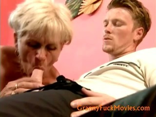 grandma Ella screwing youger fuck buddy