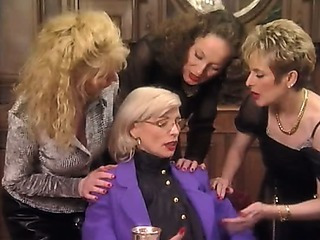 Posh Pierced Granny in Stockings Screws