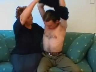 BBW Granny Home Hook-up Video