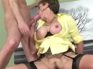Lady Sonia spitroast and cum shot
